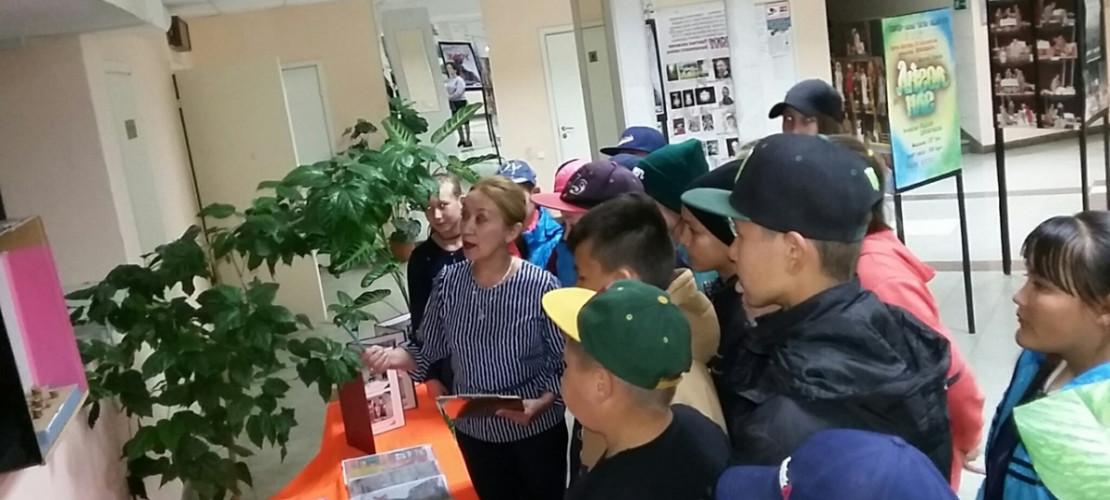 """18 мая на мероприятие """"Ночь в музее"""" приехали ребята 5-6-7 классов Муйнакской средней школы"""